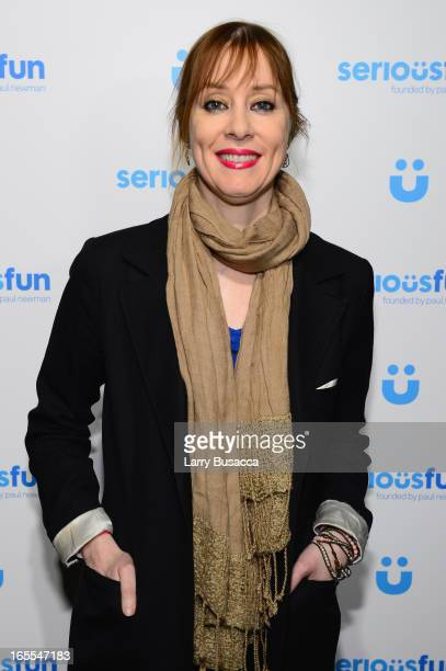 Musician Suzanne Vega attends SeriousFun Children's Network event honoring Liz Robbins with celebrity guests at Pier Sixty at Chelsea Piers on April...