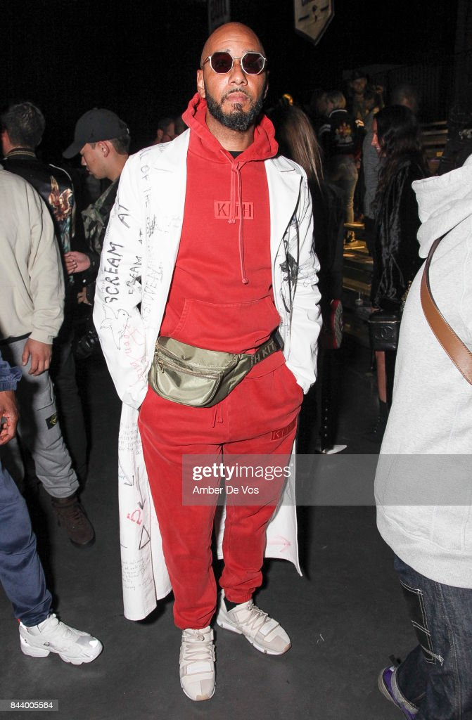 Musician Swizz Beats attends Kith Sport fashion show at Classic Car Club on September 7, 2017 in New York City.