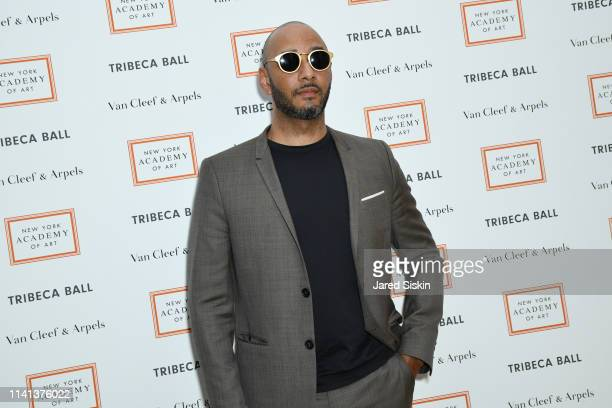 Musician Swizz Beatz attend Tribeca Ball Benefiting New York Academy Of Art at New York Academy of Art on April 08 2019 in New York City