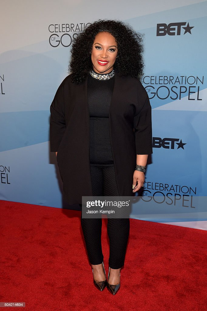 Musician Tasha Page-Lockhart attends BET Celebration Of Gospel 2016 at Orpheum Theatre on January 9, 2016 in Los Angeles, California.