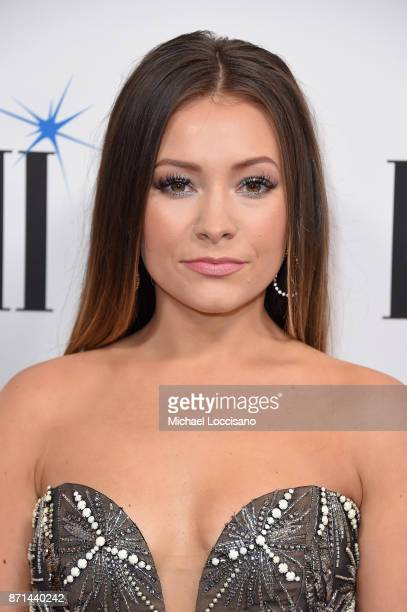 Musician Taylor Dye of Maddie and Tae attends the 65th Annual BMI Country awards on November 7 2017 in Nashville Tennessee