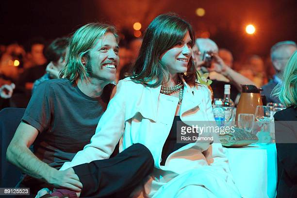 Musician Taylor Hawkins of The Foo Fighters at the 2009 MusiCares Person of the Year Tribute to Neil Diamond at the Los Angeles Convention Center on...