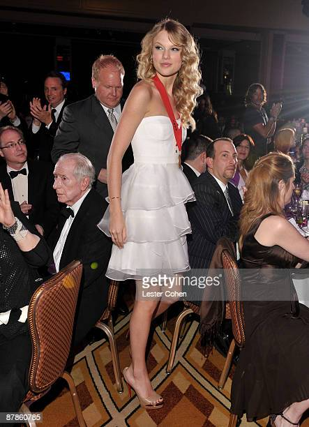 Musician Taylor Swift attends BMI's 57th Annual Pop Awards held at The Beverly Wilshire Hotel on May 19, 2009 in Beverly Hills, California.