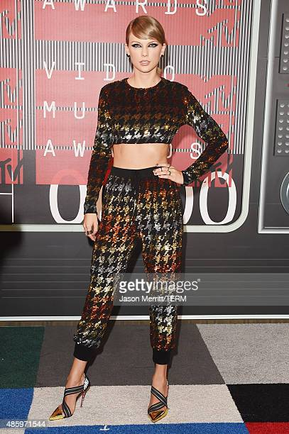 Musician Taylor Swift attends the 2015 MTV Video Music Awards at Microsoft Theater on August 30 2015 in Los Angeles California