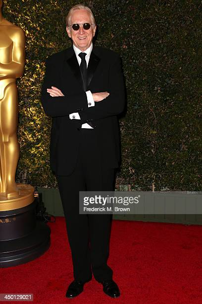 Musician TBone Burnett arrives at the Academy of Motion Picture Arts and Sciences' Governors Awards at The Ray Dolby Ballroom at Hollywood Highland...