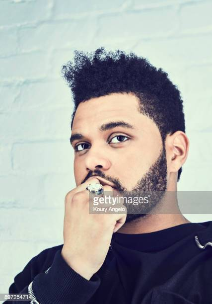 Musician The Weeknd is photographed for Billboard Magazine on November 16 2017 in Los Angeles California