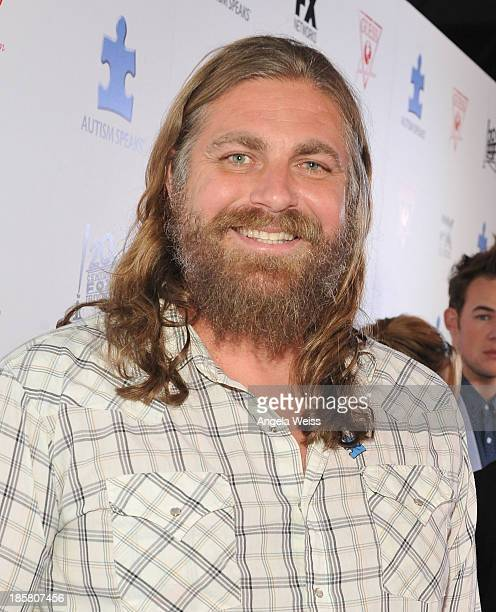 Musician The White Buffalo aka Jake Smith attends Autism Speaks' 3rd Annual 'Blue Jean Ball' presented by The GUESS Foundation at Boulevard 3 on...