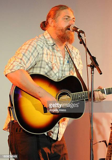 Musician The White Buffalo aka Jake Smith performs at Autism Speaks' 3rd Annual 'Blue Jean Ball' presented by The GUESS Foundation at Boulevard 3 on...