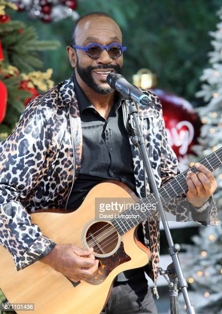 Musician Thomas McClary performs at Hallmark's Home Family at Universal Studios Hollywood on November 6 2017 in Universal City California