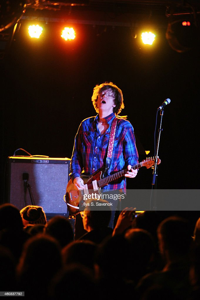 Musician Thurston Moore performs on stage, presented by Norton and Pandora, part of the Boldly Go by Norton Concert Series, powered by Pandora on December 11, 2014 in New York City.