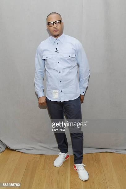 Musician TI attends the BET Music Presents Us Or Else panel discussion at the Viacom White Box Hall on April 6 2017 in New York City