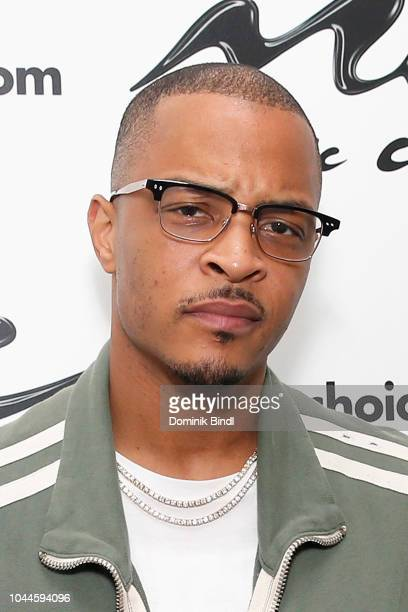 Musician TI visits Music Choice at Music Choice on October 2 2018 in New York City