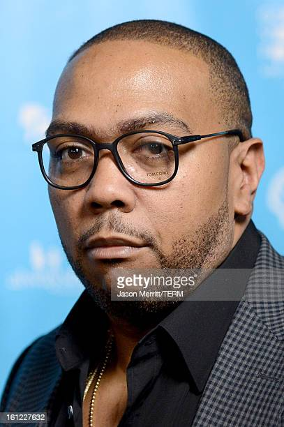 Musician Timbaland joins mPowering Action a global mobile youth movement at Grammy Week launch featuring performances by Timbaland and Avicii at The...