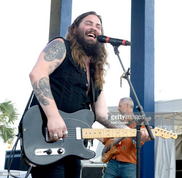 Musician Timothy Showalter of Strand of Aaks performs at the Mermaid Stage during 2017 Hangout Music Festival on May 21 2017 in Gulf Shores Alabama