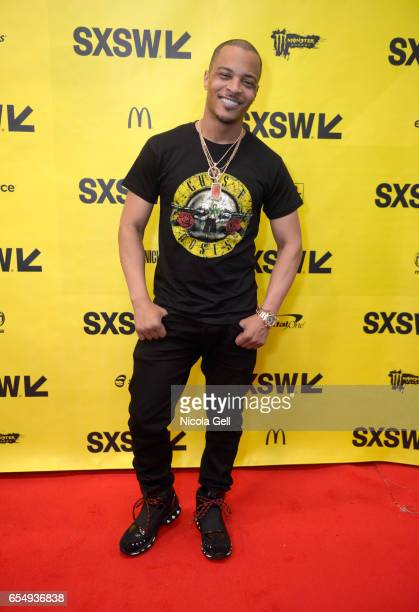 Musician Tip 'TI' Harris attends 'A Conversation with TI' during 2017 SXSW Conference and Festivals at Austin Convention Center on March 18 2017 in...