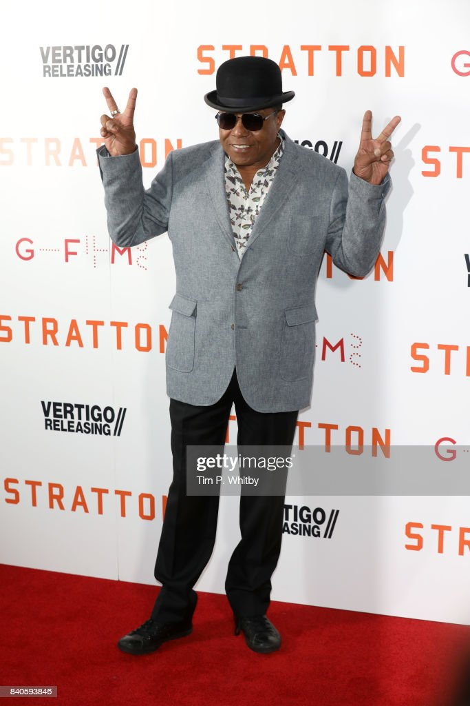 Musician Tito Jackson attends the 'Stratton' UK premiere at the Vue West End on August 29, 2017 in London, England.