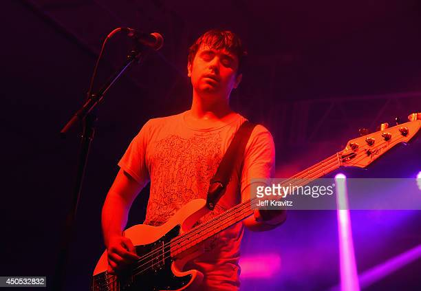 Musician TJ Duke of Cloud Nothings performs onstage at This Tent during day 1 of the 2014 Bonnaroo Arts And Music Festival on June 12 2014 in...