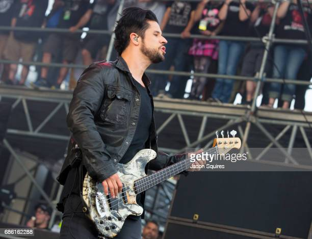 Musician Tobin Esperance of Papa Roach performs at MAPFRE Stadium on May 20 2017 in Columbus Ohio