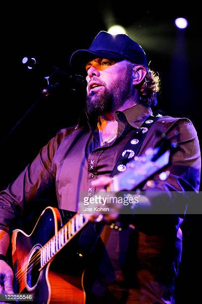 Musician Toby Keith performs in concert at Irving Plaza on June 17 2010 in New York City