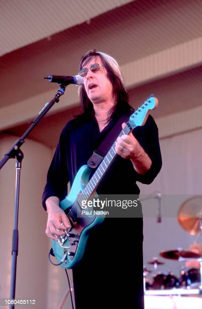 Musician Todd Rundgren performing on stage at the Petrillo Bandshell in Chicago Illinois July 1 2001