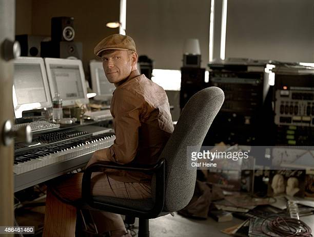 Musician Tom Holkenborg aka Junkie XL is photographed on May 22 2005 in Los Angeles California