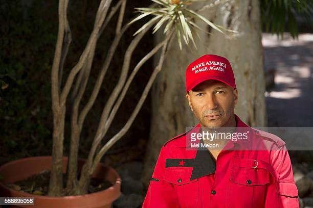 Musician Tom Morello of Rage Against the Machine is photographed for Los Angeles Times on July 8 2016 in Los Angeles California PUBLISHED IMAGE...
