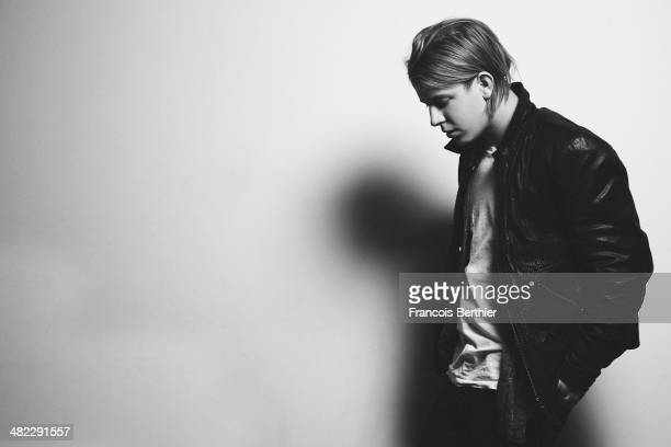 Musician Tom Odell is photographed for Self Assignment on February 21 2014 in Paris France