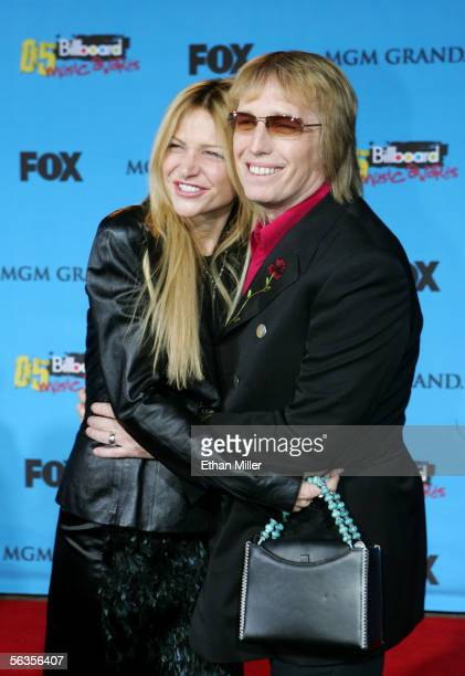 Musician Tom Petty and his wife Dana York arrive at the 2005 Billboard Music Awards held at the MGM Grand Garden Arena on December 6 2005 in Las...