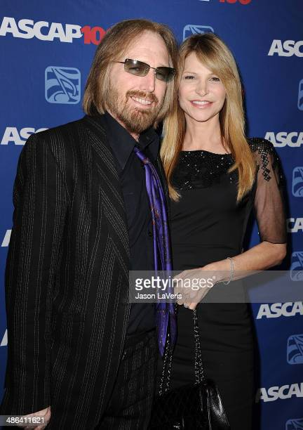 Musician Tom Petty and wife Dana York attend the 31st annual ASCAP Pop Music Awards at The Ray Dolby Ballroom at Hollywood Highland Center on April...