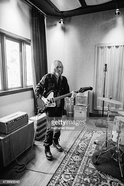 MALIBU CA MARCH 10 2014 Musician Tom Petty is photographed for Rolling Stone Magazine on March 10 2014 in Malibu California