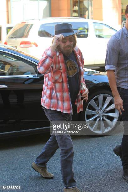 Musician Tom Petty is seen on September 11 2017 in Los Angeles California