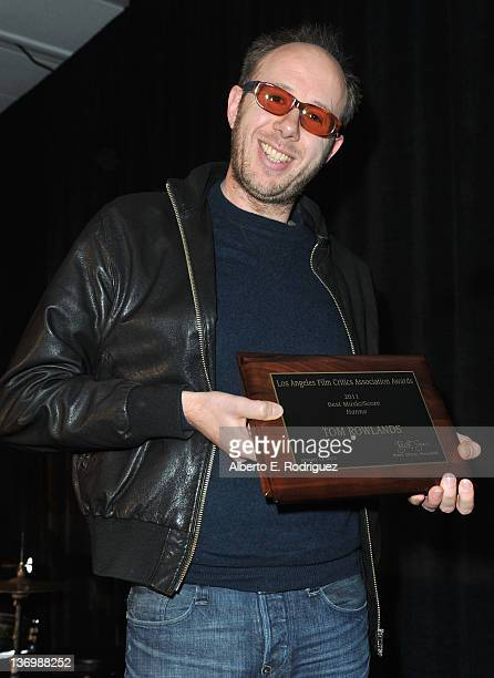 Musician Tom Rowlands attends the 37th Annual Los Angeles Film Critics Association Awards at InterContinental Hotel on January 13 2012 in Century...