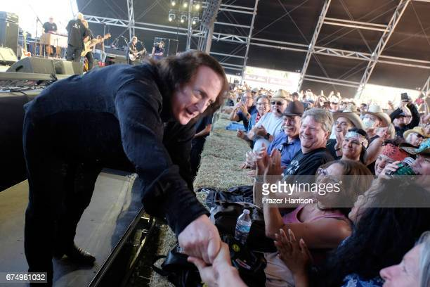 Musician Tommy James of Tommy James and the Shondells performs on the Palomino Stage during day 2 of 2017 Stagecoach California's Country Music...