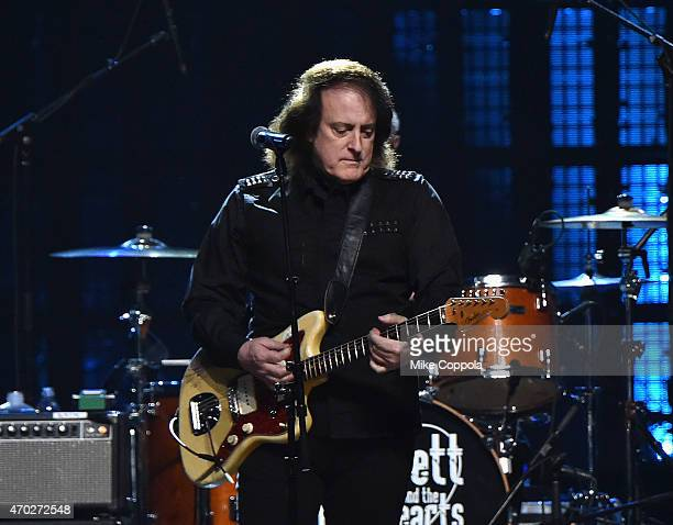 Musician Tommy James performs onstage during the 30th Annual Rock And Roll Hall Of Fame Induction Ceremony at Public Hall on April 18 2015 in...