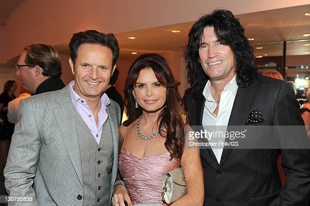 Musician Tommy Thayer and guests attend the wedding of Gene Simmons and Shannon Tweed at the Beverly Hills Hotel on October 1 2011 in Los Angeles...