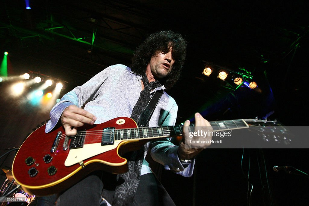 Musician Tommy Thayer performs at the 7th annual Scott Medlock-Robby Krieger Invitational & All-Star Concert benefiting St. Jude held at Moorpark Country Club on September 22, 2014 in Moorpark, California.