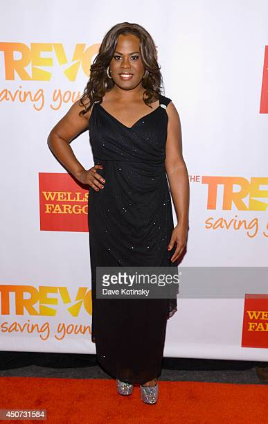 Musician Tona Brown attends the Trevor Project's 2014 TrevorLIVE NY Event at the Marriott Marquis Hotel on June 16 2014 in New York City
