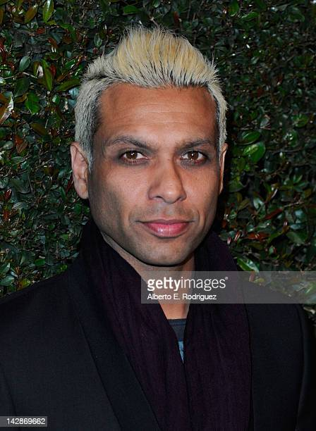 """Musician Tony Kanal attends the world premiere of """"My Valentine"""" video hosted by Paul McCartney and Stella McCartney on April 13, 2012 in West..."""