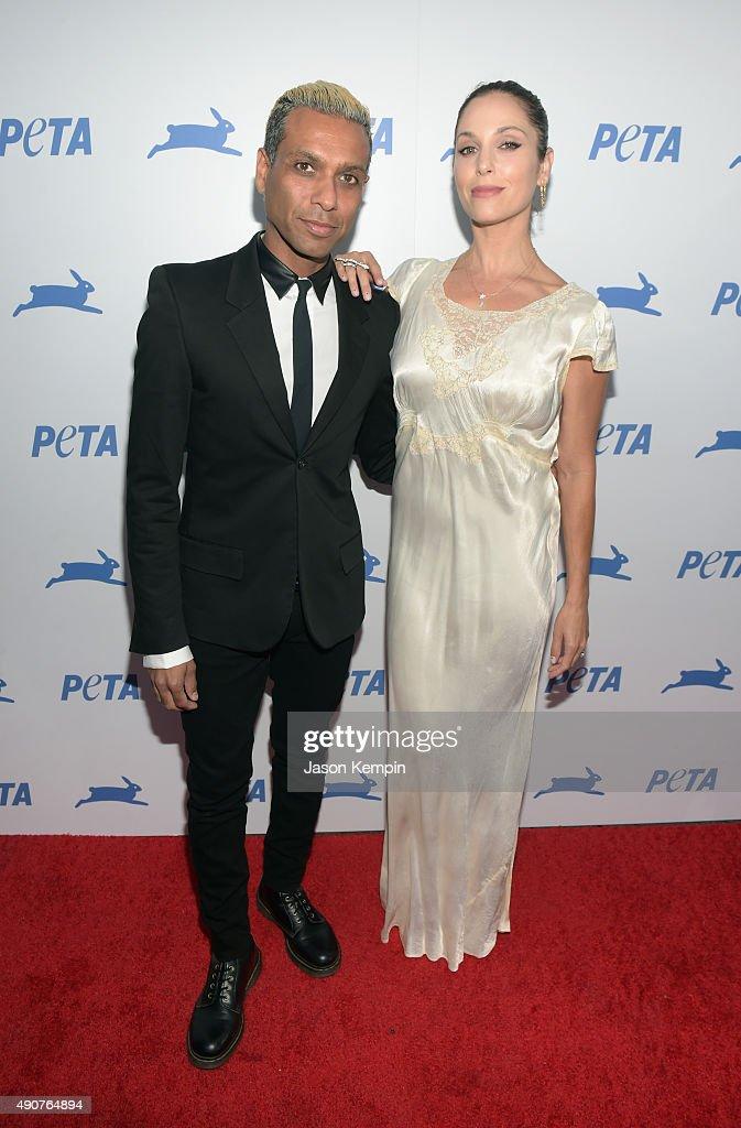 PETA's 35th Anniversary Party - Red Carpet : News Photo