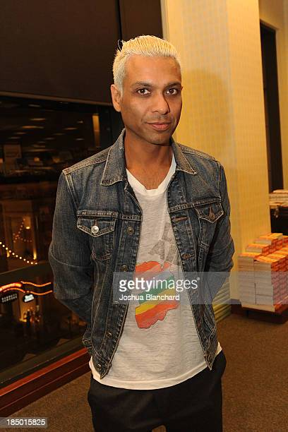 Musician Tony Kanal of No Doubt attends the book signing for Legends ICONS And Rebels at Barnes Noble bookstore at The Grove on October 16 2013 in...