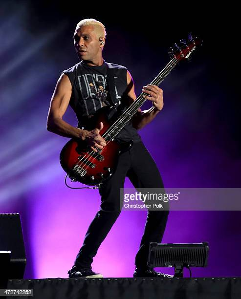 Musician Tony Kanal of No Doubt performs onstage during Rock in Rio USA at the MGM Resorts Festival Grounds on May 8 2015 in Las Vegas Nevada