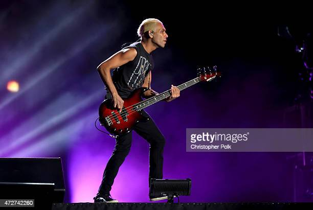 Musician Tony Kanal of No Doubt performs onstage during Rock in Rio USA at the MGM Resorts Festival Grounds on May 8, 2015 in Las Vegas, Nevada.