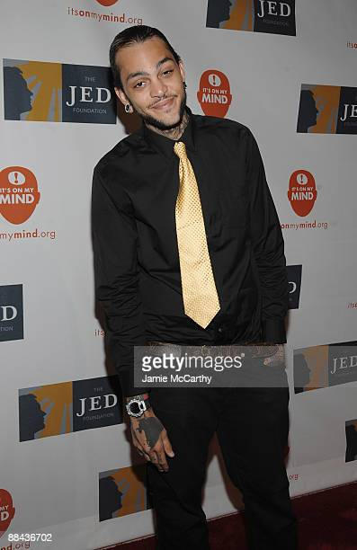 Musician Travis McCoy attends the 8th Annual Jed Foundation Gala at Guastavino's on June 11 2009 in New York City