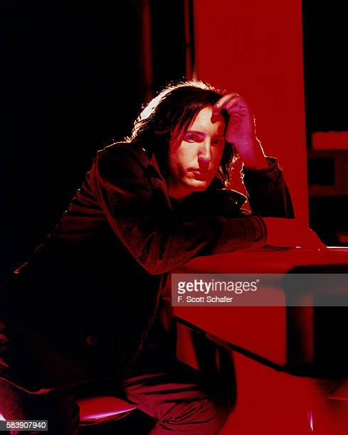 Musician Trent Reznor is photographed for Stuff Magazine in 2001