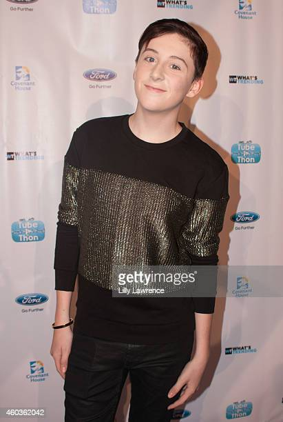 Musician Trevor Moran attends What's Trending 3rd Annual TubeAThon on December 11 2014 in Los Angeles California