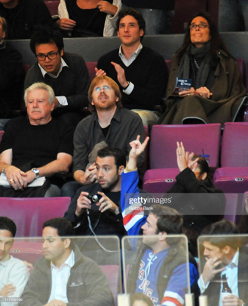Celebrities Attend Toronto Maple Leafs Vs. New York Rangers