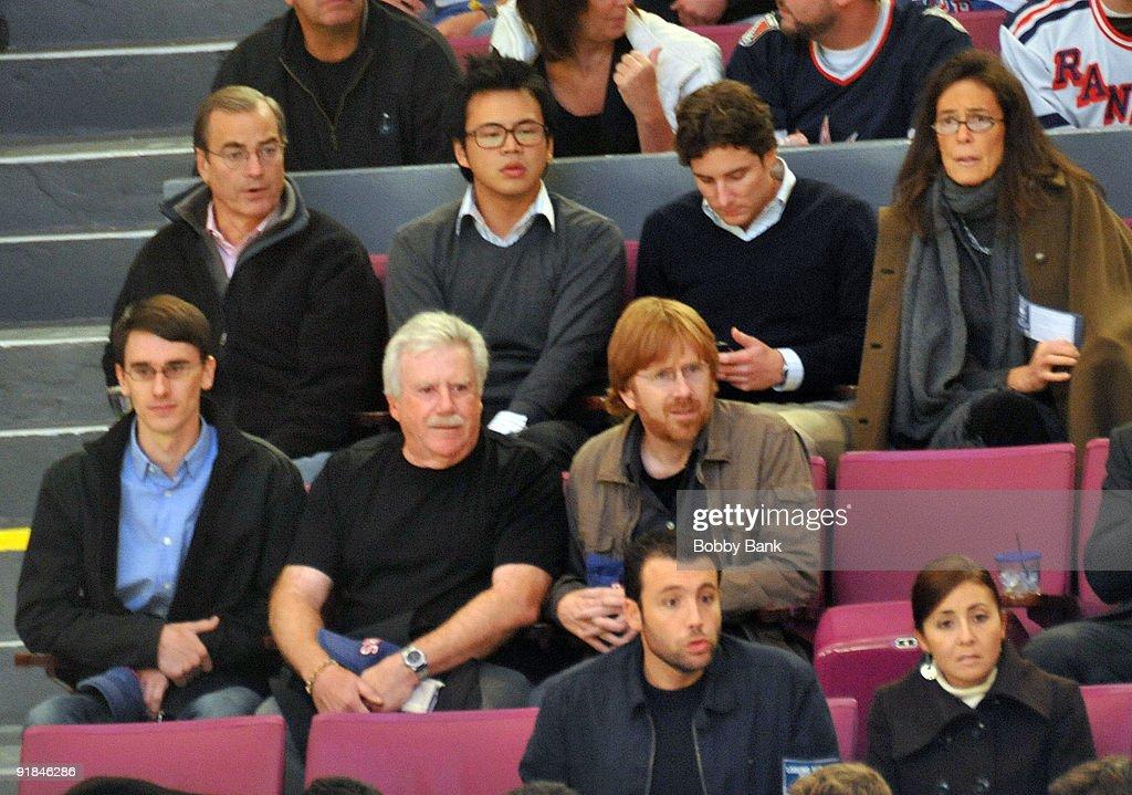 Celebrities Attend Toronto Maple Leafs Vs. New York Rangers