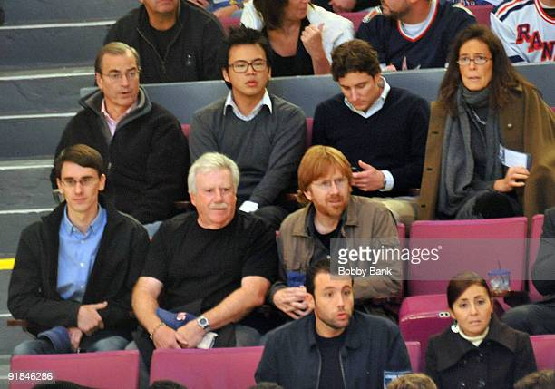 Musician Trey Anastasio of Phish attends the Toronto Maple Leafs Vs New York Rangers game at Madison Square Garden on October 12 2009 in New York City