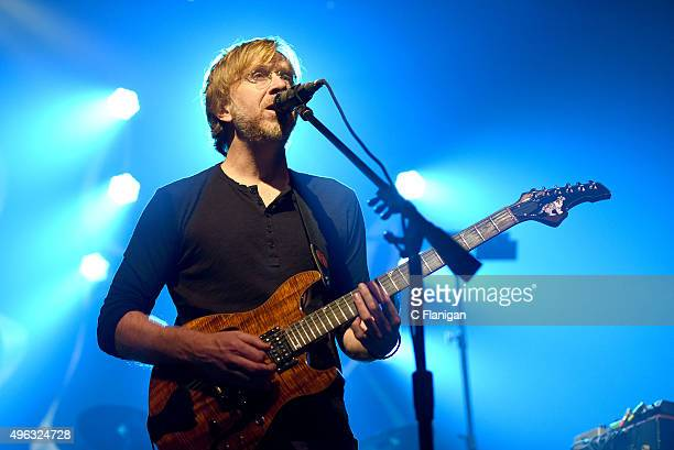 Musician Trey Anastasio of Phish performs with his solo project the Trey Anastasio Band at Fox Theater on November 7 2015 in Oakland California