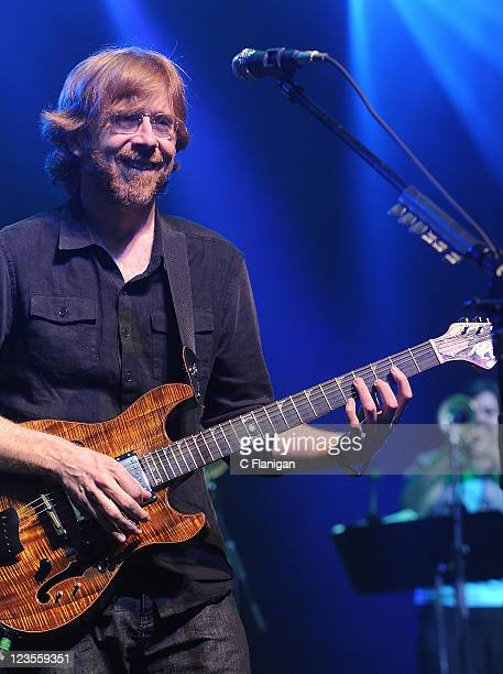 Musician Trey Anastasio performs with his band live at The Fox Theatre on March 5 2011 in Oakland California
